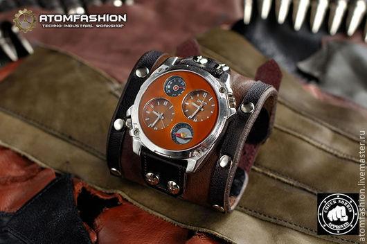 """Часы ручной работы. Ярмарка Мастеров - ручная работа. Купить Часы мужские """"Техно-рейнджер"""". Handmade. Часы, мужские часы"""