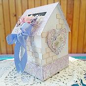 Свадебный салон ручной работы. Ярмарка Мастеров - ручная работа Свадебная казна - Домик. Handmade.