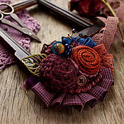 Украшения handmade. Livemaster - original item Brooch Marigolds. Handmade.