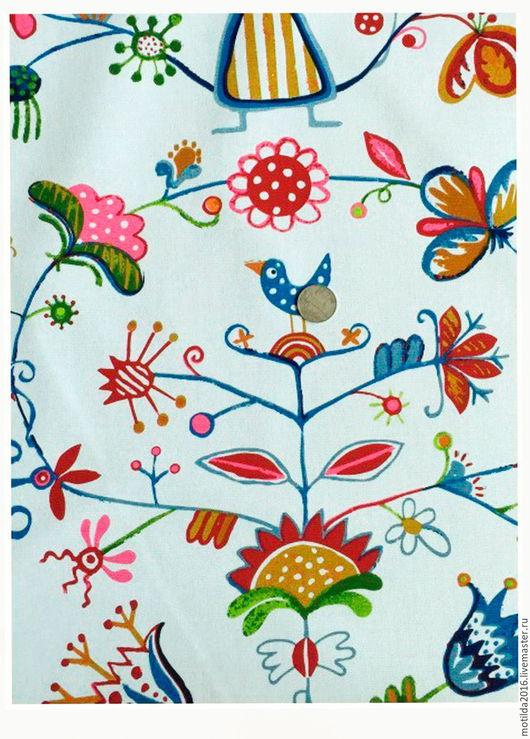 """Шитье ручной работы. Ярмарка Мастеров - ручная работа. Купить Канвас с рисунком """"Цветы"""". Handmade. Комбинированный, ткань, ткань для творчества"""
