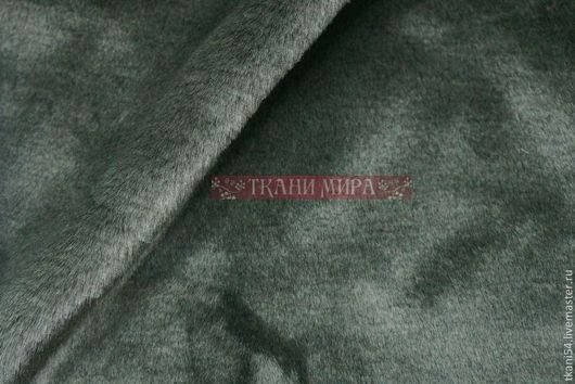 Шитье ручной работы. Ярмарка Мастеров - ручная работа. Купить Мех искусственный Мутон, 150 см, зеленый. Handmade.