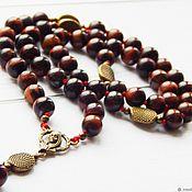Фен-шуй и эзотерика handmade. Livemaster - original item Rosary of the virgin of the bull`s eye. Handmade.