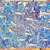 """Картины и панно ручной работы. Ярмарка Мастеров - ручная работа Рыбки. Серия """"Тайны морских глубин.. Handmade."""