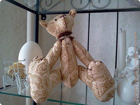 """Игрушки животные, ручной работы. Ярмарка Мастеров - ручная работа. Купить """" медвежонок в стиле """"рококо"""". Handmade. Бежевый"""