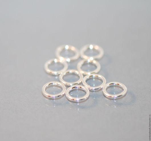 колечки серебро 925; колечки серебряные; колечки серебро; ювелирная фурнитура; магазин серебряной фурнитуры; серебряная фурнитура 925 пробы для бижутерии; серебряная фурнитура для бижутерии купить
