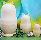 Материалы для творчества handmade. Livemaster - original item Russian dolls Totoro, a forest spirit, a blank for creativity.. Handmade.