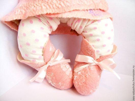 Валяная одежда для новорожденного, компелект одежды для малыша, авторский войлок Авраменко Ирины