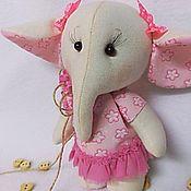 """Куклы и игрушки ручной работы. Ярмарка Мастеров - ручная работа Слоняша """"Рози"""". Handmade."""