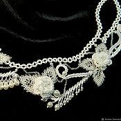 Украшения handmade. Livemaster - original item GRACEFUL - necklace of beads, pearl beads.. Handmade.