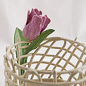 Для дома и интерьера handmade. Livemaster - original item Vase Tulip. Ceramics. Handmade.