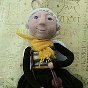 Куклы и игрушки ручной работы. Ярмарка Мастеров - ручная работа Ангел со скрипкой.. Handmade.