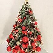 Деревья ручной работы. Ярмарка Мастеров - ручная работа Деревья: новогодняя ель. Handmade.
