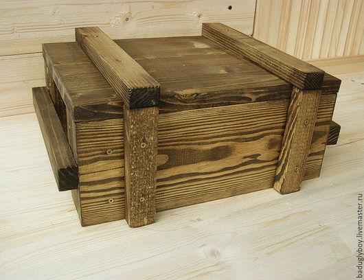 Армейский ящик деревянный. Шкатулка для мелочей. Шкатулка для украшений. Шкатулка. ШКАТУЛКА. Шкатулка деревянная.  Шкатулка из дерева. Деревянная шкатулка.