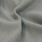 Материалы для творчества ручной работы. Ярмарка Мастеров - ручная работа Флис Серый антипилинг (2 вида). Handmade.