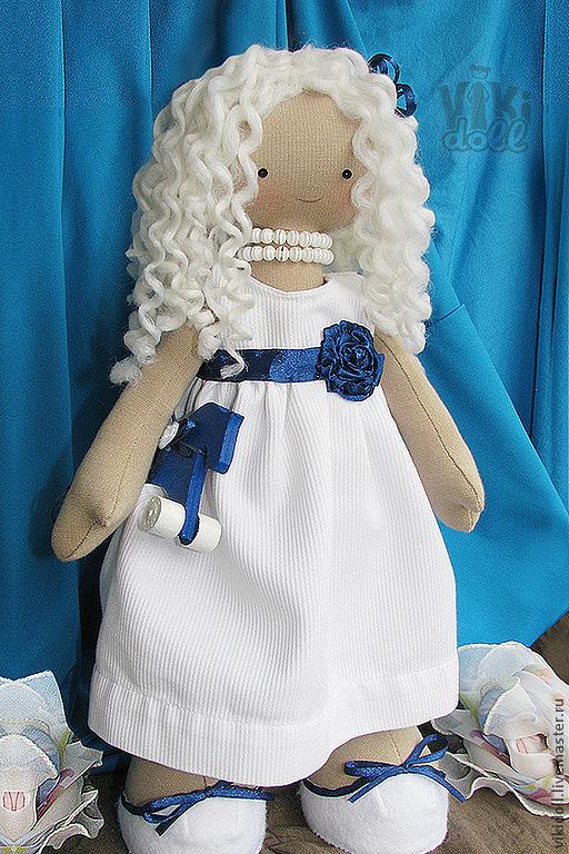 Человечки ручной работы. Ярмарка Мастеров - ручная работа. Купить Ангелина. Handmade. Ангелина, синий, синяя лодашка, лошадь, трикотаж