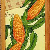 """Для дома и интерьера ручной работы. Ярмарка Мастеров - ручная работа """"Кукурузная""""  доска. Handmade."""