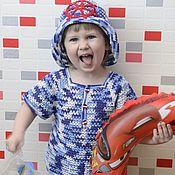 """Работы для детей, ручной работы. Ярмарка Мастеров - ручная работа Летний комплект для мальчика """"Катерок"""". Handmade."""