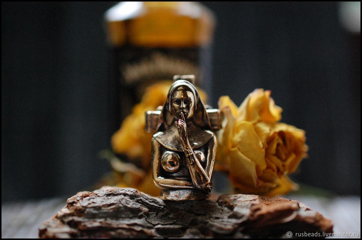 Бусина Грешница для ножа, темляка, подвеса, паракорда, брелка, Бусины, Москва,  Фото №1