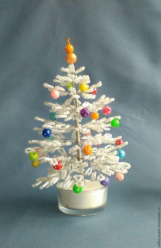 Деревья ручной работы. Ярмарка Мастеров - ручная работа. Купить Елочка новогодняя. Handmade. Комбинированный, Сувенир ручной работы