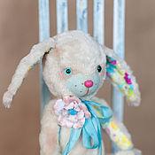 Куклы и игрушки ручной работы. Ярмарка Мастеров - ручная работа Тедди зайка Акварель. Handmade.