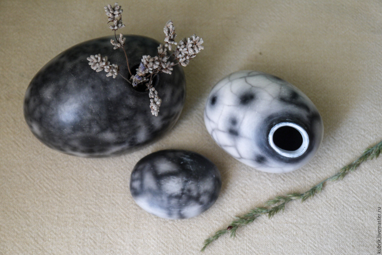 Вазочки - камушки