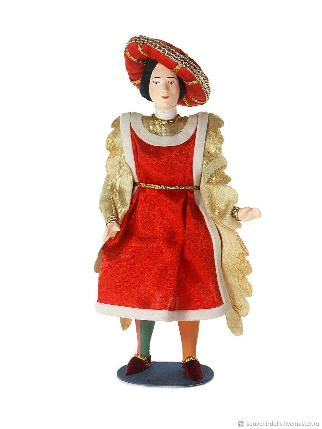 Кукла коллекционная фарфоровая Граф Парис, Интерьерная кукла, Санкт-Петербург,  Фото №1