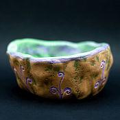 """Посуда ручной работы. Ярмарка Мастеров - ручная работа Пиала керамика ручной работы """"Лесная"""". Handmade."""