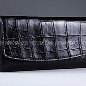 Сумки и аксессуары handmade. Livemaster - original item Wallet female crocodile IMA0004B4. Handmade.