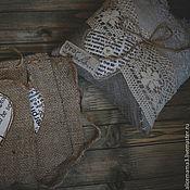 """Свадебный салон ручной работы. Ярмарка Мастеров - ручная работа Комплект """"Рустикальные чувства"""". Handmade."""
