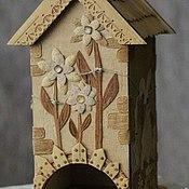 Для дома и интерьера handmade. Livemaster - original item Tea house. Handmade.