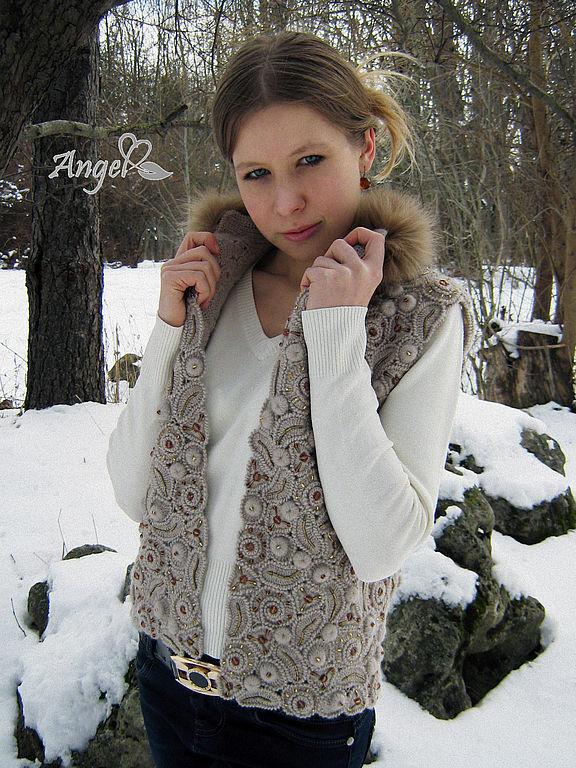 """Жилет """" Winter in Paris"""", Жилеты, Симферополь,  Фото №1"""