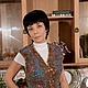 Vest with fleece МANX. Vests. Woolmuse Studio. My Livemaster. Фото №5
