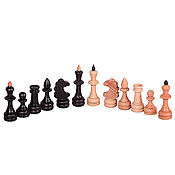 Активный отдых и развлечения handmade. Livemaster - original item chess figures small solid oak. Handmade.