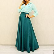 Одежда handmade. Livemaster - original item Maxi skirt (different colors). Handmade.