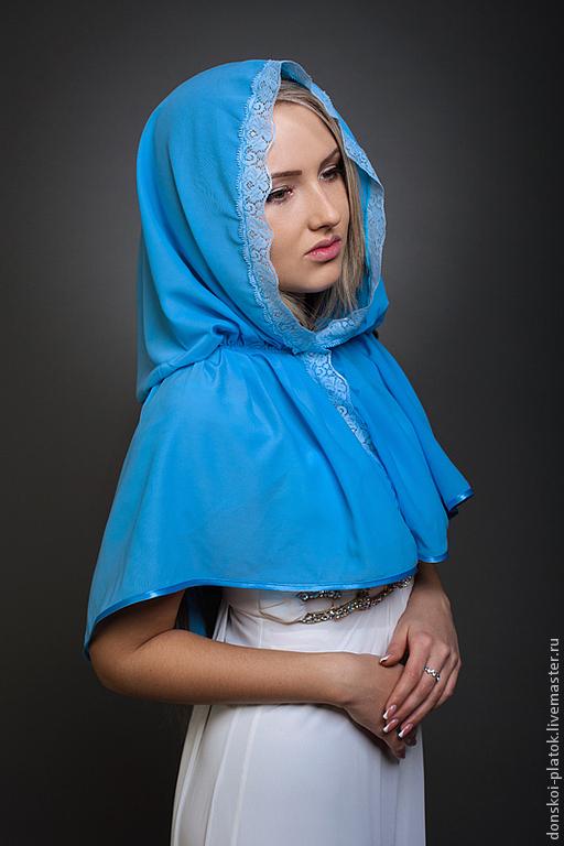 Как красиво завязать платок в церковь на крестины
