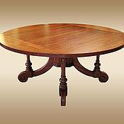 Столы ручной работы. Ярмарка Мастеров - ручная работа Обеденный стол-трансформер из дерева «ПРЕСТИЖ». Handmade.