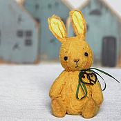 Куклы и игрушки ручной работы. Ярмарка Мастеров - ручная работа Зайка тедди Стёпа. Handmade.