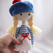 Куклы и игрушки handmade. Livemaster - original item Crochet amigurumi bunny Cheerful Sumo wrestler. Handmade.