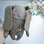 Куклы и игрушки ручной работы. Ярмарка Мастеров - ручная работа Текстильный заяц Луговой. Handmade.