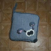 Подушки ручной работы. Ярмарка Мастеров - ручная работа Игрушка-подушка Мышь. Handmade.