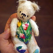 Куклы и игрушки ручной работы. Ярмарка Мастеров - ручная работа Букет, мишка-тедди. Handmade.