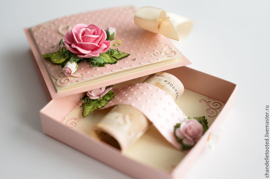 Pocket Cards Handmade Livemaster Card Box Wedding