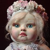 Куклы и пупсы ручной работы. Ярмарка Мастеров - ручная работа Тедди долл Аурелия-Ангел. Handmade.
