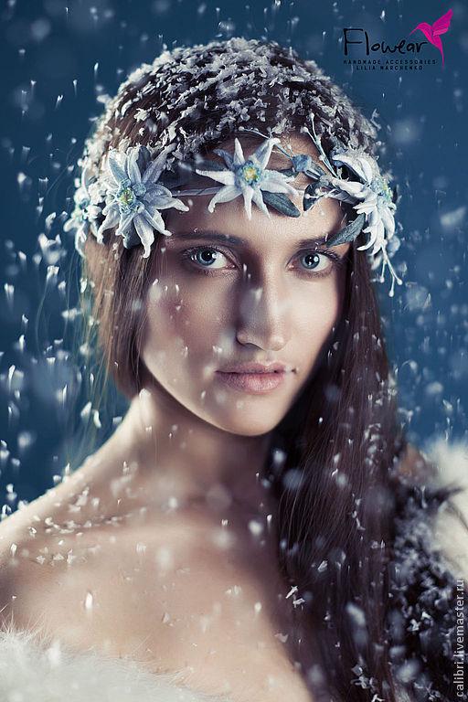 Метелица, как девица...\r\nФото - Анна Морозова \r\nЦветы ручной работы - Лилия Марченко