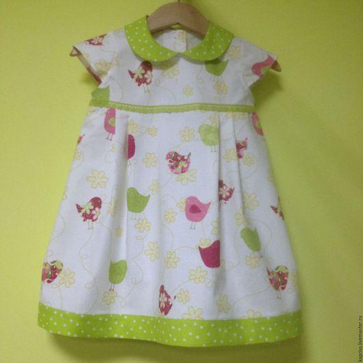 """Одежда для девочек, ручной работы. Ярмарка Мастеров - ручная работа. Купить платье для девочки """" моя цыпочка"""". Handmade. Комбинированный"""