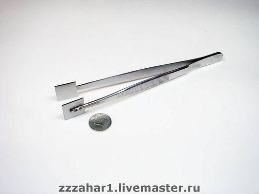 Other Handiwork handmade. Livemaster - handmade. Buy Tweezers-press square.Tweezers-press, tools for lampwork, stainless steel