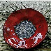 Тарелки ручной работы. Ярмарка Мастеров - ручная работа Цветок керамический. Handmade.