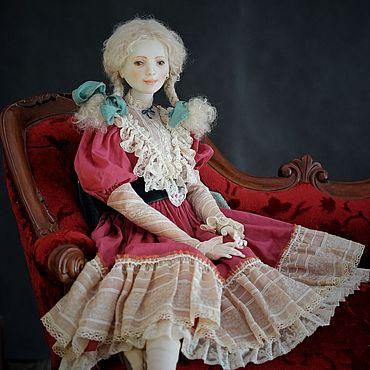 Куклы и игрушки ручной работы. Ярмарка Мастеров - ручная работа Нева. фарфоровая шарнирная кукла. Handmade.