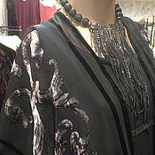 Одежда ручной работы. Ярмарка Мастеров - ручная работа Жилет из панбархата.. Handmade.