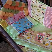 Работы для детей, ручной работы. Ярмарка Мастеров - ручная работа детский комплект в кроватку. Handmade.